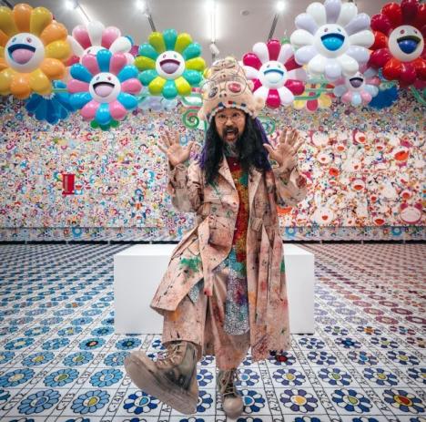 Klassische japanische Kunst trifft zeitgenössischen Popkultur: Takashi Murakami gestaltet die zehnte Welt-Künstlerausgabe/ Foto: Takashi Murakami/Kaikai Kiki Co.,Ltd.